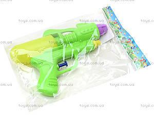 Пистолет игрушечный водяной, для детей, 3398B, фото