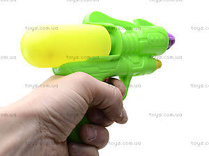 Пистолет игрушечный водяной, для детей, 3398B, отзывы