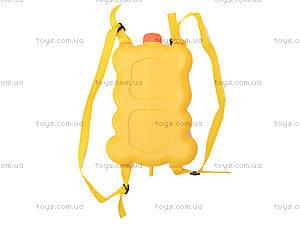 Водный пистолет с рюкзаком «Медвежонок», 988-11, фото