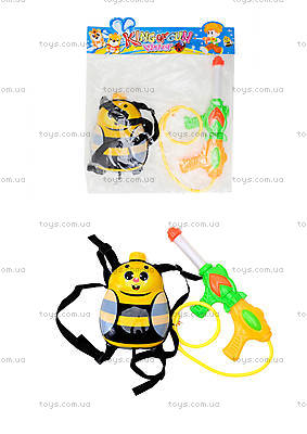 Водный пистолет с рюкзаком «Пчёлка», 988-8