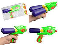 Игрушечный пистолет с двумя баллонами, 4702A, купить