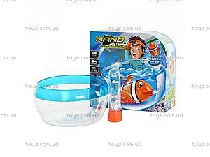 Водоплавающая игрушка в форме рыбки,