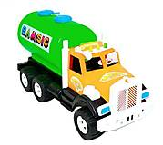 """Машинка водовоз """"Бамсик"""", зеленый, 009/9, toys.com.ua"""