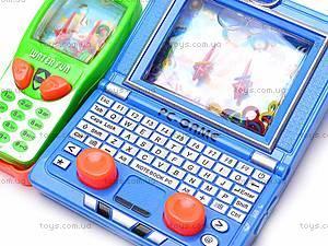 Водяная игра «Телефон» с ноутбуком, 686J/3686F, отзывы