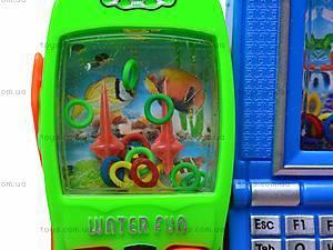Водяная игра «Телефон» с ноутбуком, 686J/3686F, детские игрушки