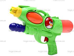 Водяное оружие с накачкой Angry birds, 2212-2, отзывы