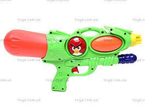 Водяное оружие с накачкой Angry birds, 2212-2, игрушки