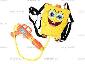 Водяное оружие с рюкзаком для воды Sponge Bob, 3500D-2, отзывы