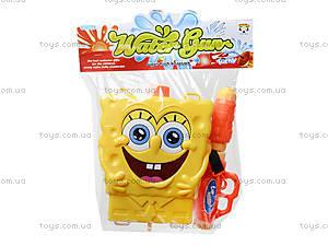 Водяное оружие с рюкзаком для воды Sponge Bob, 3500D-2, цена