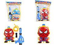 Водяное оружие «Супергерои» с рюкзаком , 6699-010203