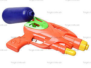 Детский водяной пистолет с накачкой, F-40, игрушки