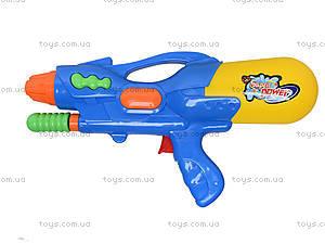 Детское водяное оружие с накачкой «Бластер», 1305, детские игрушки