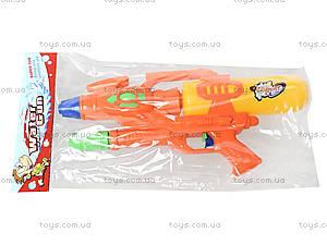 Детский водяной бластер с накачкой, WG-1, игрушки