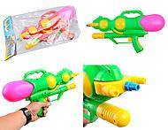 Водяное оружие с накачкой, ассортимент цветов, 3001, фото