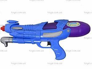 Детское водяное оружие PLAY SMART, с накачкой, 1132, игрушки