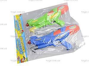 Детское водяное оружие PLAY SMART, с накачкой, 1132, іграшки