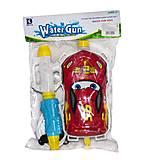 Водяное оружие «Тачки» с рюкзаком для воды, KLD-024, отзывы