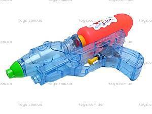 Водяной пистолет, прозрачный, 305-2, купить