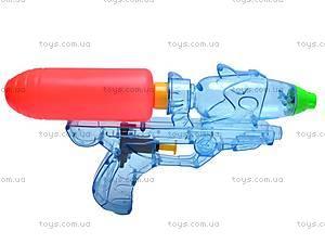 Водяной пистолет, прозрачный, 305-2