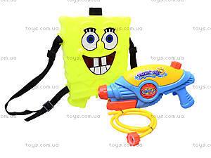 Водяной пистолет с баллоном «Sponge Bob», 031-5, детские игрушки