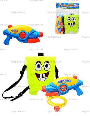 Водяной пистолет с баллоном «Sponge Bob», 031-5