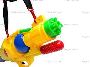 Водяной пистолет с насосом, детский, M252, фото