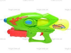 Водяной пистолет с помпой, 3289B, фото