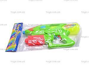 Водяной пистолет с помпой, 3289B, игрушки