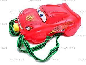 Водяной пистолет с рюкзачком «Тачки», 8813, цена