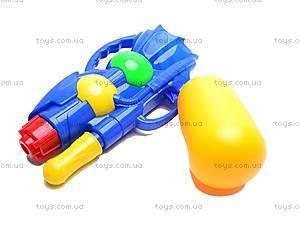 Водяной пистолетик, с насосом, M818, отзывы