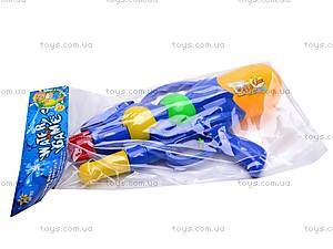 Водяной пистолетик, с насосом, M818, цена