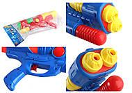 Водяной пистолет с насосом, MIX 3 цвета, M828, фото