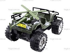 Военная машина с вертолетом, 333-3, игрушки