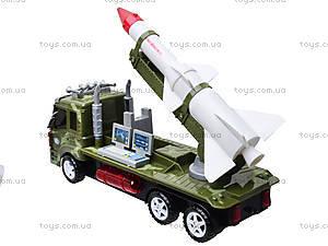 Музыкальная военная машина с ракетой, ZF0888, купить