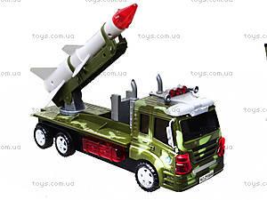 Музыкальная военная машина с ракетой, ZF0888, фото
