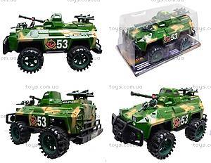 Инерционная игрушка «Военная техника», 388-23