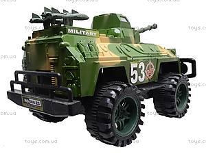 Инерционная игрушка «Военная техника», 388-23, магазин игрушек