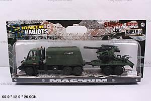 Военный грузовик с прицепом, KD001-11