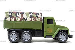 Военный грузовик с солдатами и техникой, 237-3181B1, игрушки