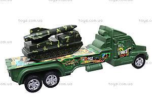Военный грузовик с техникой, 1658-9, купить