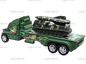 Военный грузовик с техникой, 1658-9, фото