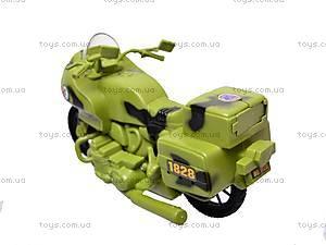 Военный мотоцикл для детей, 1828-55G, купить