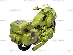 Военный мотоцикл для детей, 1828-55G, фото