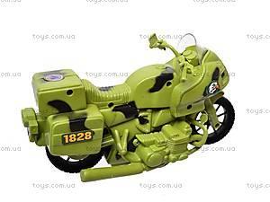 Военный мотоцикл для детей, 1828-55G, цена