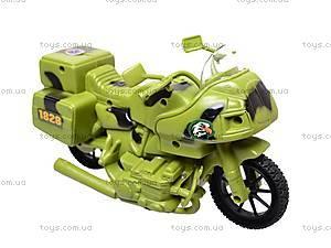 Военный мотоцикл для детей, 1828-55G, игрушки