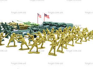 Военный набор с солдатиками, 108 элементов, 8057, купить