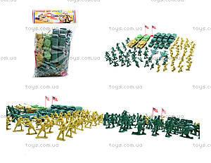 Военный набор с солдатиками, 108 элементов, 8057