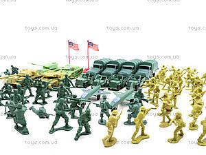 Военный набор с солдатиками, 108 элементов, 8057, игрушки