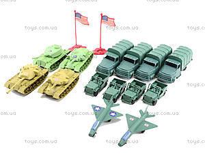 Военный набор с солдатиками, 108 элементов, 8057, детские игрушки