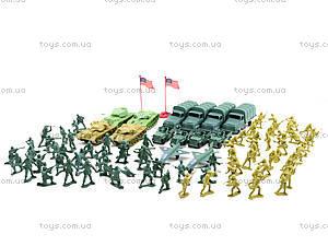 Военный набор с солдатиками, 108 элементов, 8057, toys.com.ua